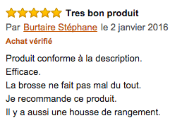 commentaire braun face 832